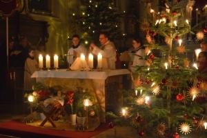 Heiligabend in Breitenthal 2018